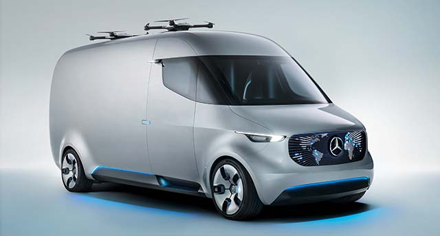 Mercedes-Benz Vans электрогрузовик