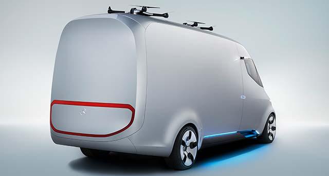 электрический фургон от Mercedes-Benz Vans