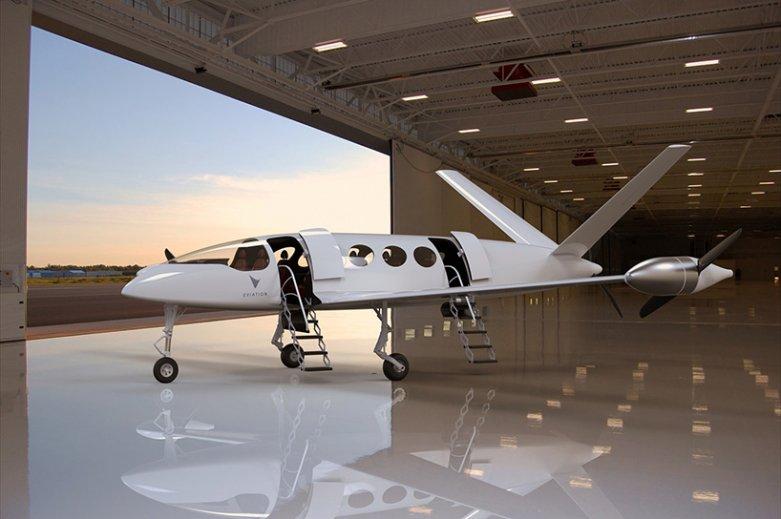 Электрический самолет Alice
