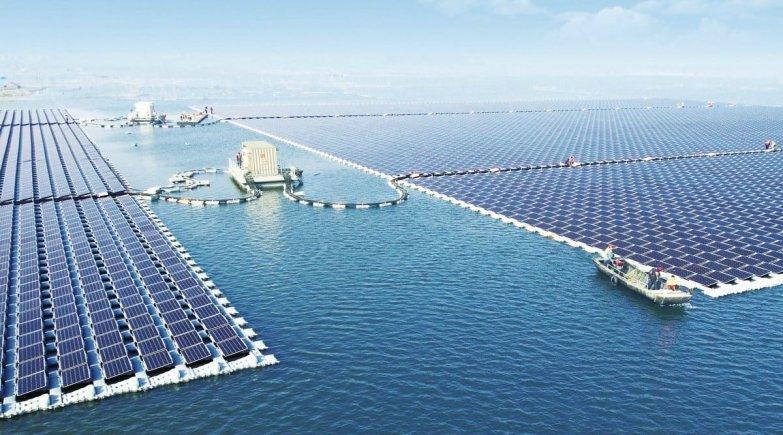плавучая солнечная электростанция