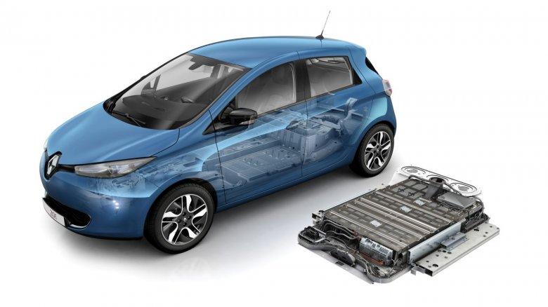 аккумулятор Renault Zoe
