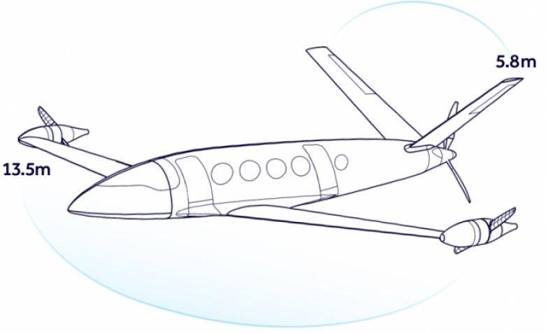 самолет-Аlice, Eviation Aircraft