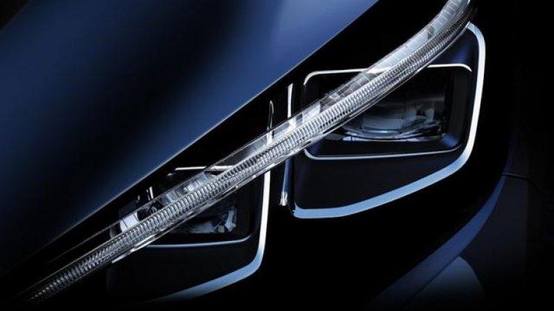 Фары 2018-Nissan-leaf