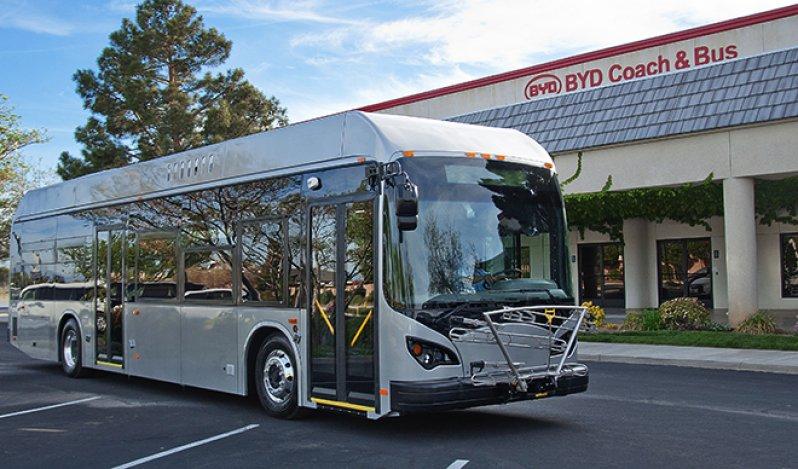 95 электрических автобусов