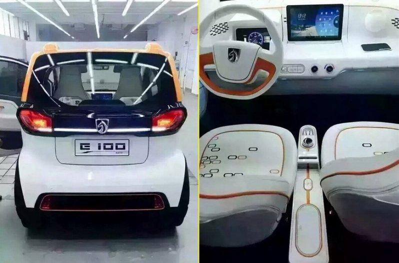 Baojun E100 салон