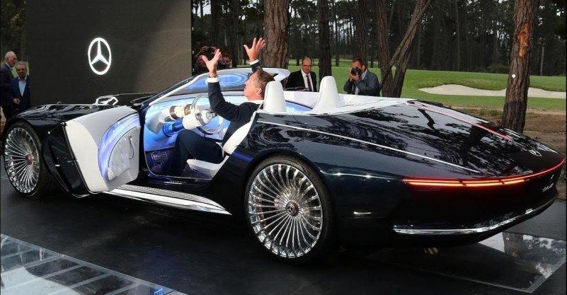 Mercedes Cabriolet kontsept