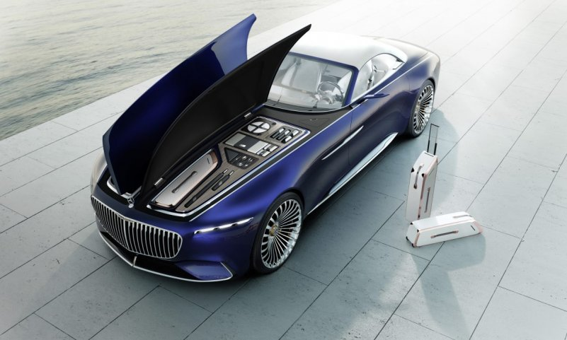 Mercedes-Maybach Cabriolet kontsept