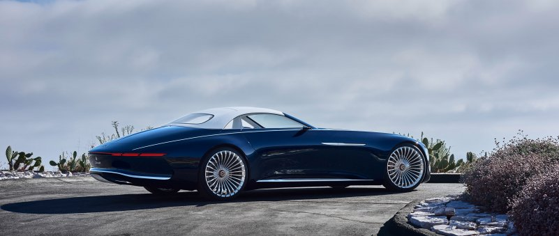концепт Vision Mercedes-Maybach 6 Cabriolet