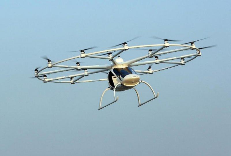 letayuschee taksi Volocopter