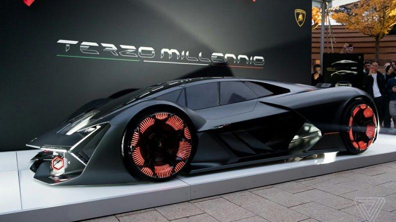 Lamborghini Terzo Millennio концепт