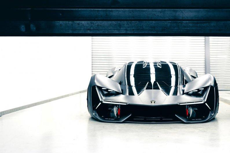 электромобиль Lamborghini Terzo Millennio
