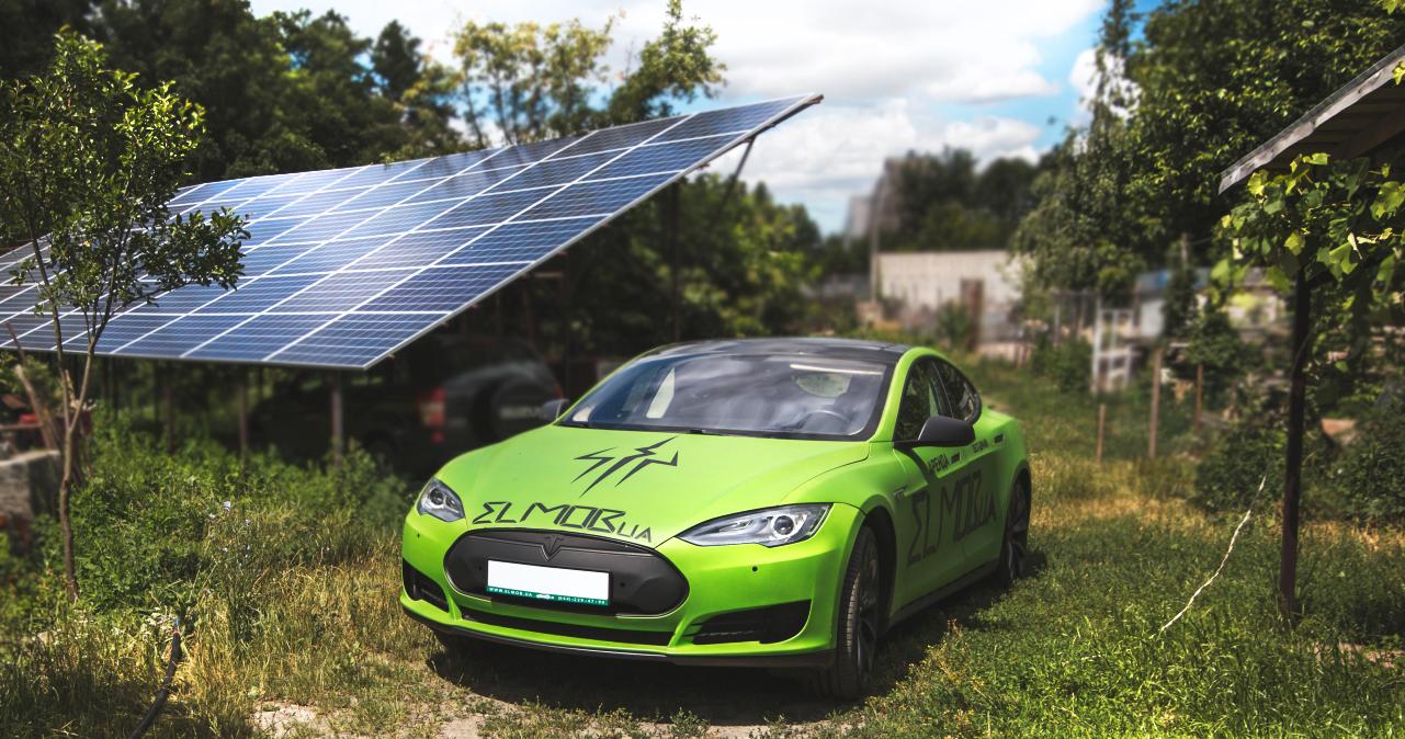 солнечные панели tesla солнечная станция электромобиль