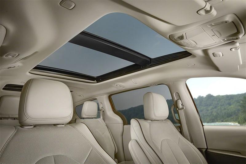 Chrysler-Pacifica крыша