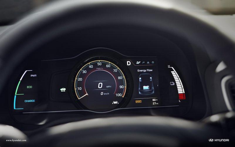 Hyundai IONIQ Electric салон