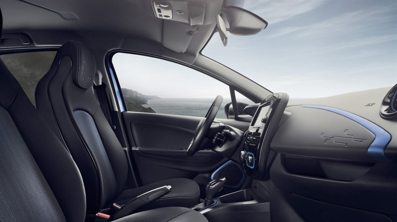 Renault ZOE интерьер салон