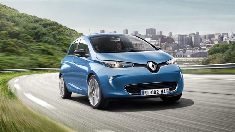 Renault ZOE пробег