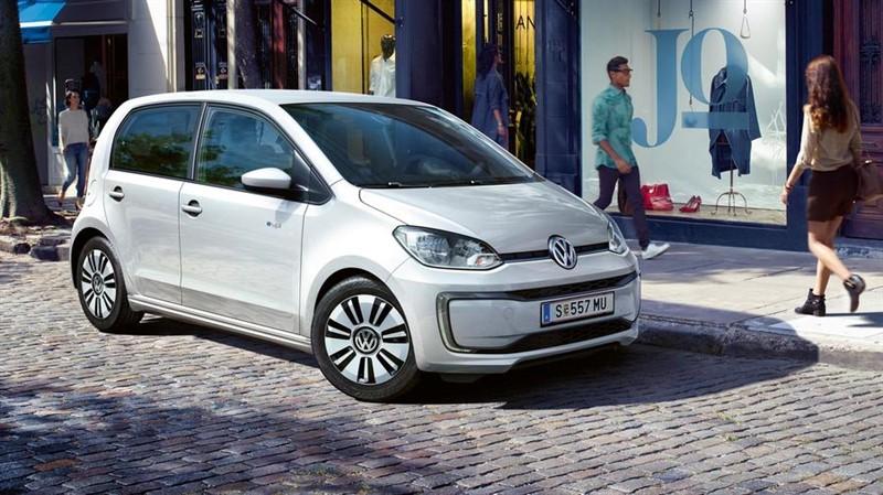Volkswagen e-up! электрический автомобиль