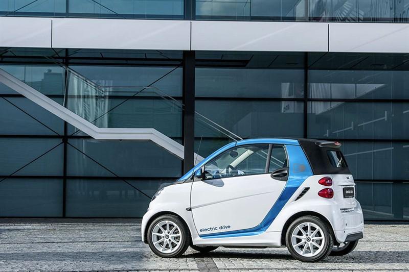 электромобиль Smart Fortwo ED