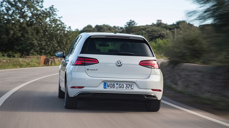 электромобиль Volkswagen e-Golf