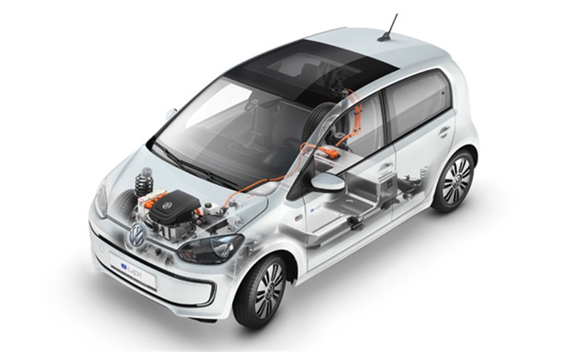 электромобиль Volkswagen e-up