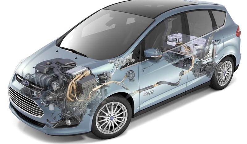 плагин гибрид Ford C-Max Energi