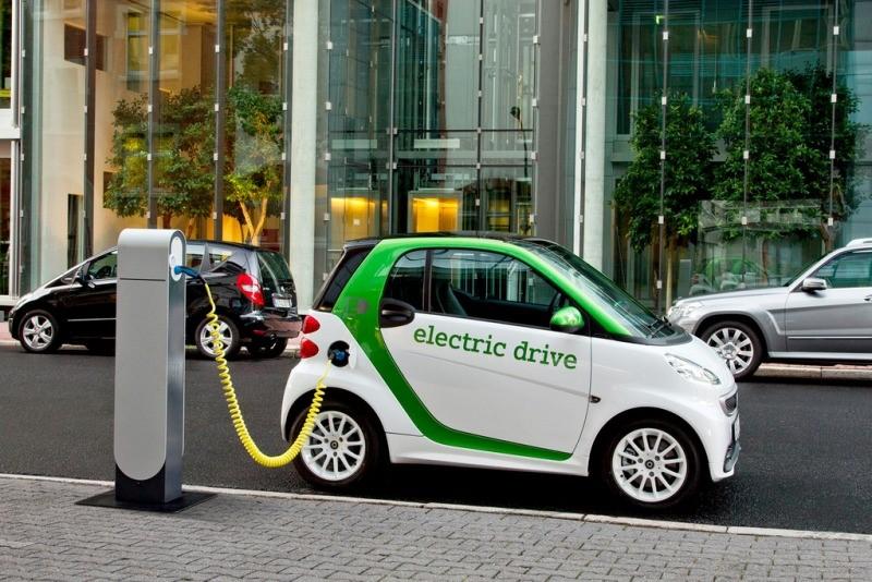 зарядка Smart Fortwo Electric Drive