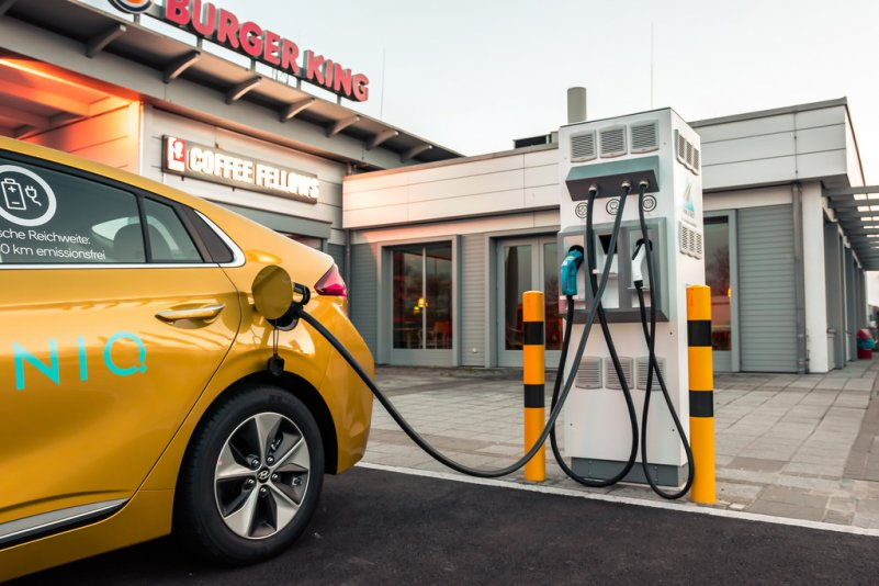 зарядка электромобиля Hyundai IONIQ Electric