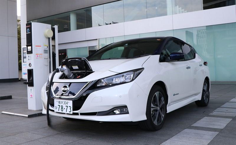 Быстрая зарядка для электромобиля