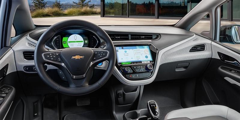 Chevrolet Bolt интерьер салон
