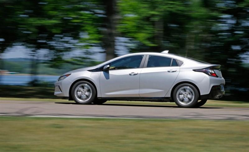Chevrolet Volt второе поколение
