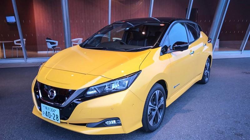 60 кВт-ч Nissan Leaf