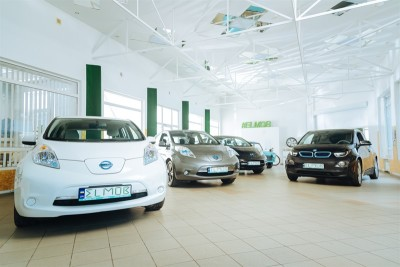 купить электромобиль бу