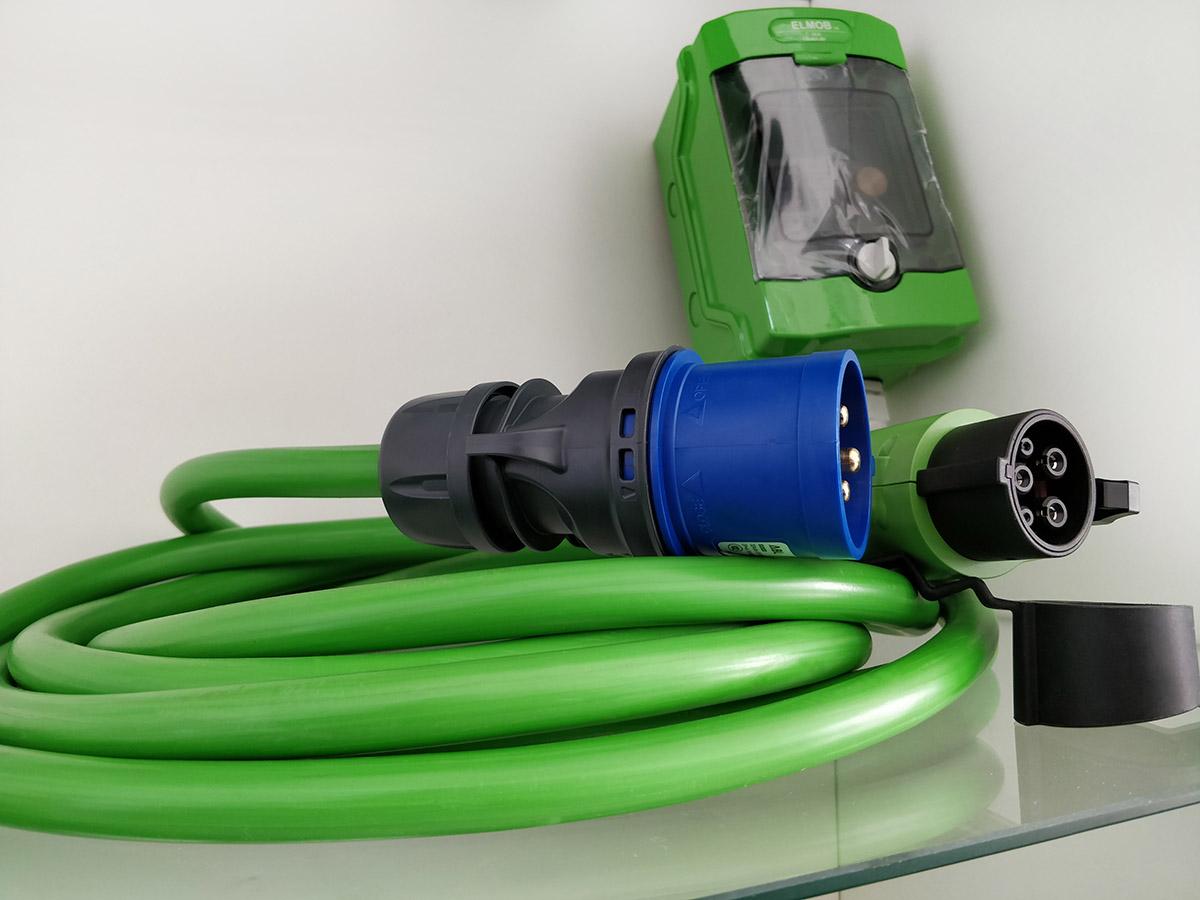 Портативная зарядное устройство для электромобилей 6-32А