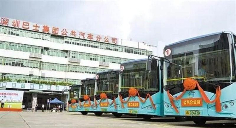 электробусы китай