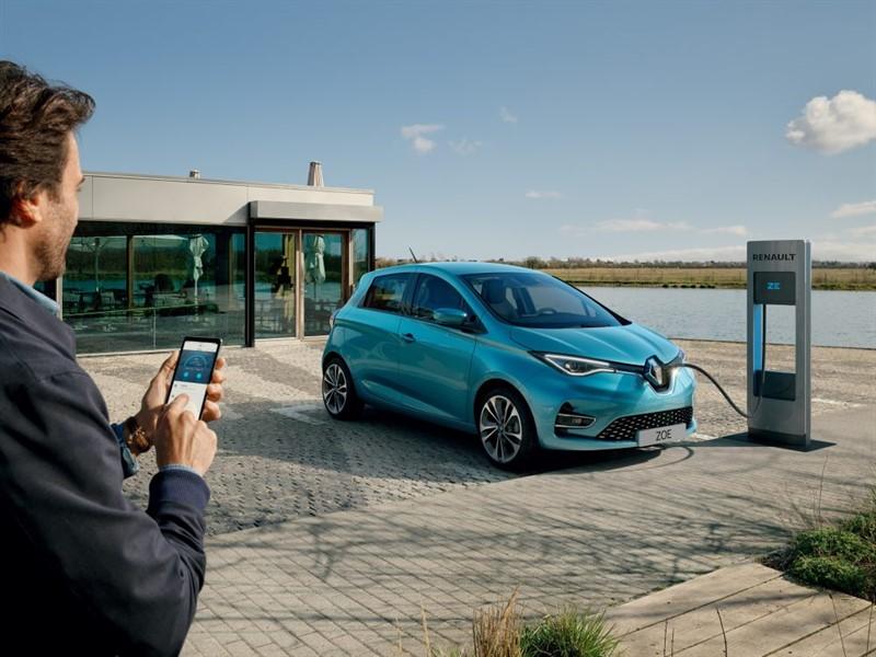 обновленный Renault ZOE