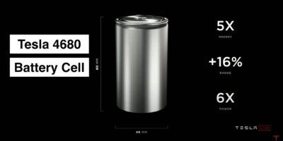 Tesla-4680-Battery