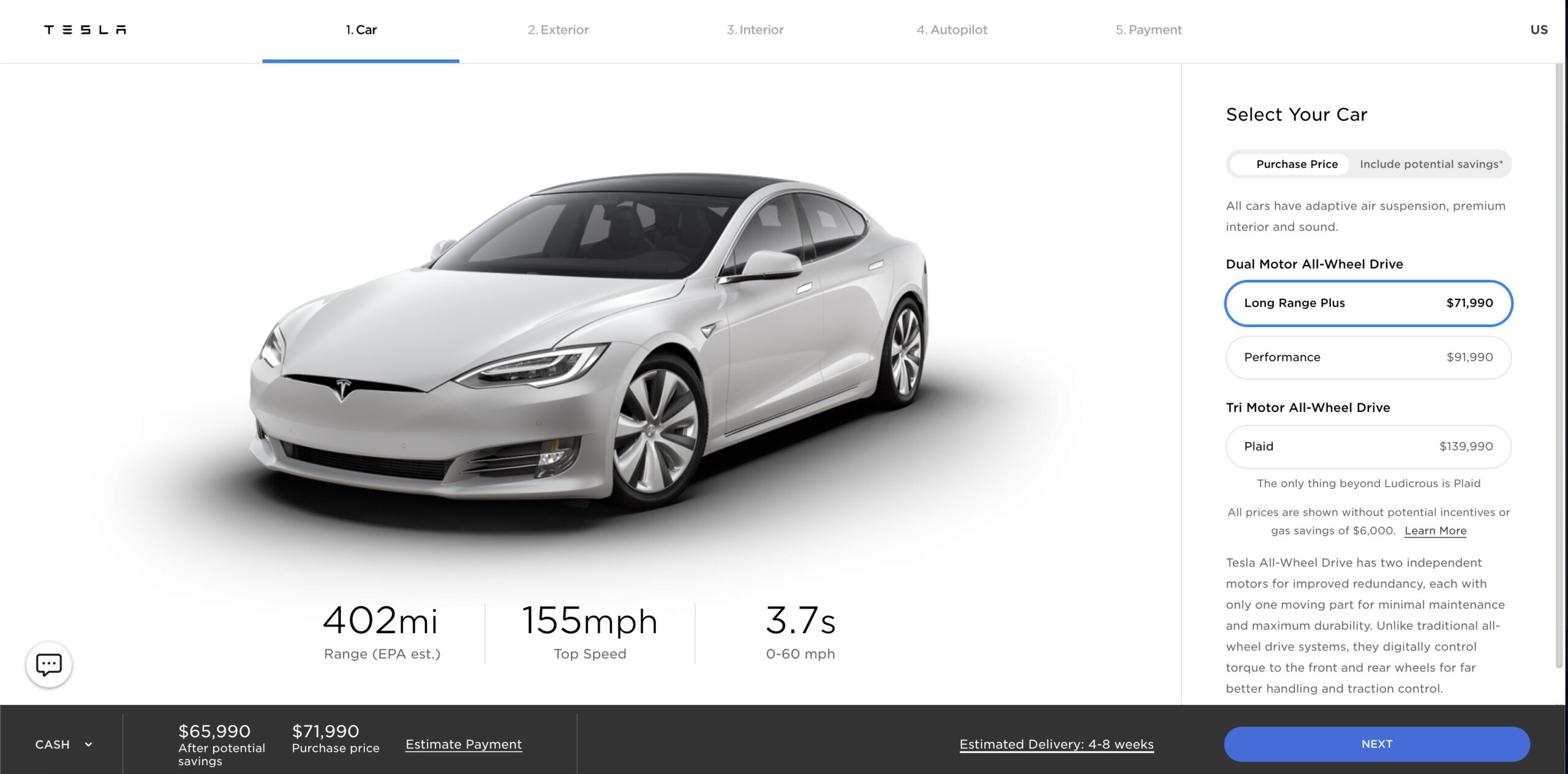Tesla-Model-S-price-update-to-72000