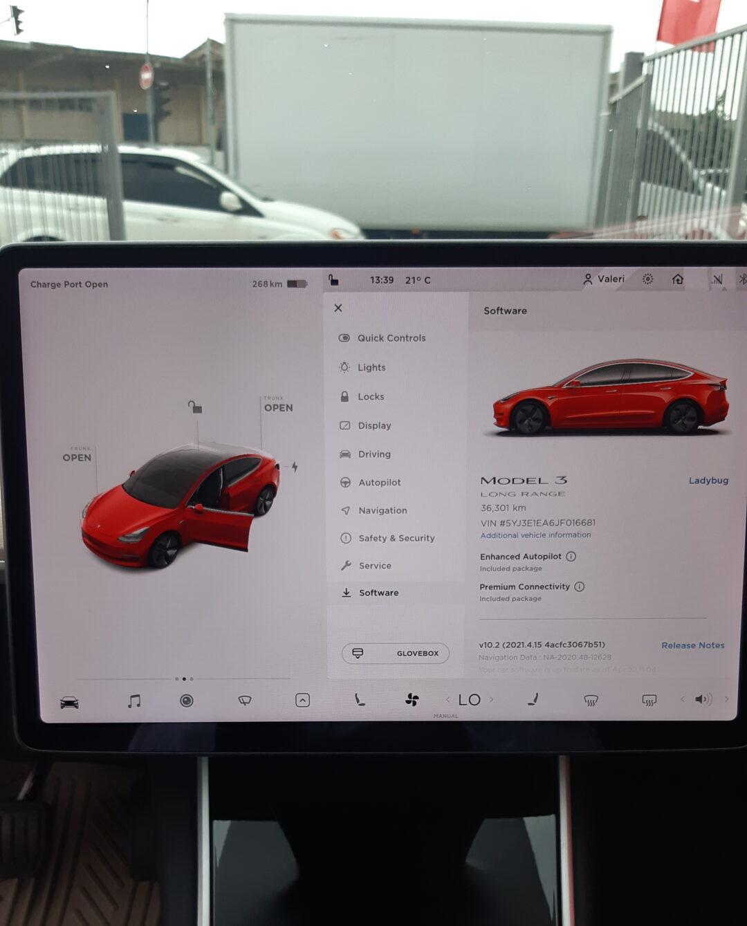 Tesla Model 3 Touch Screen