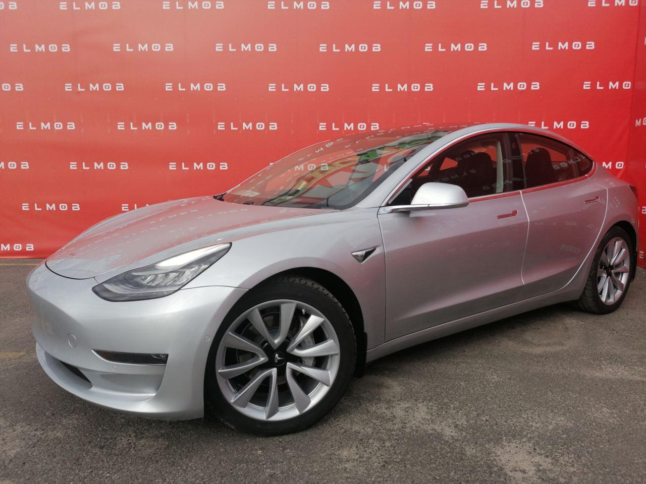 Tesla Model 3 Long Range Silver