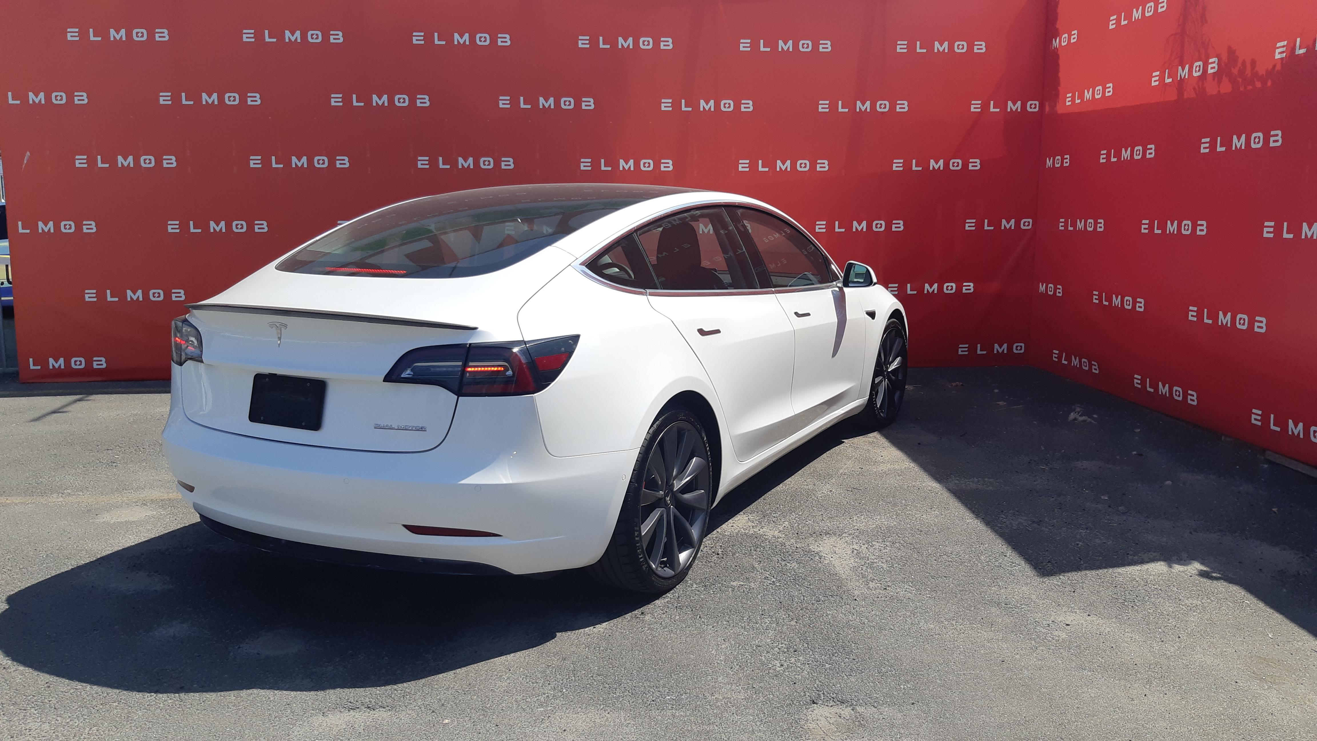 Tesla Model 3 Performance White