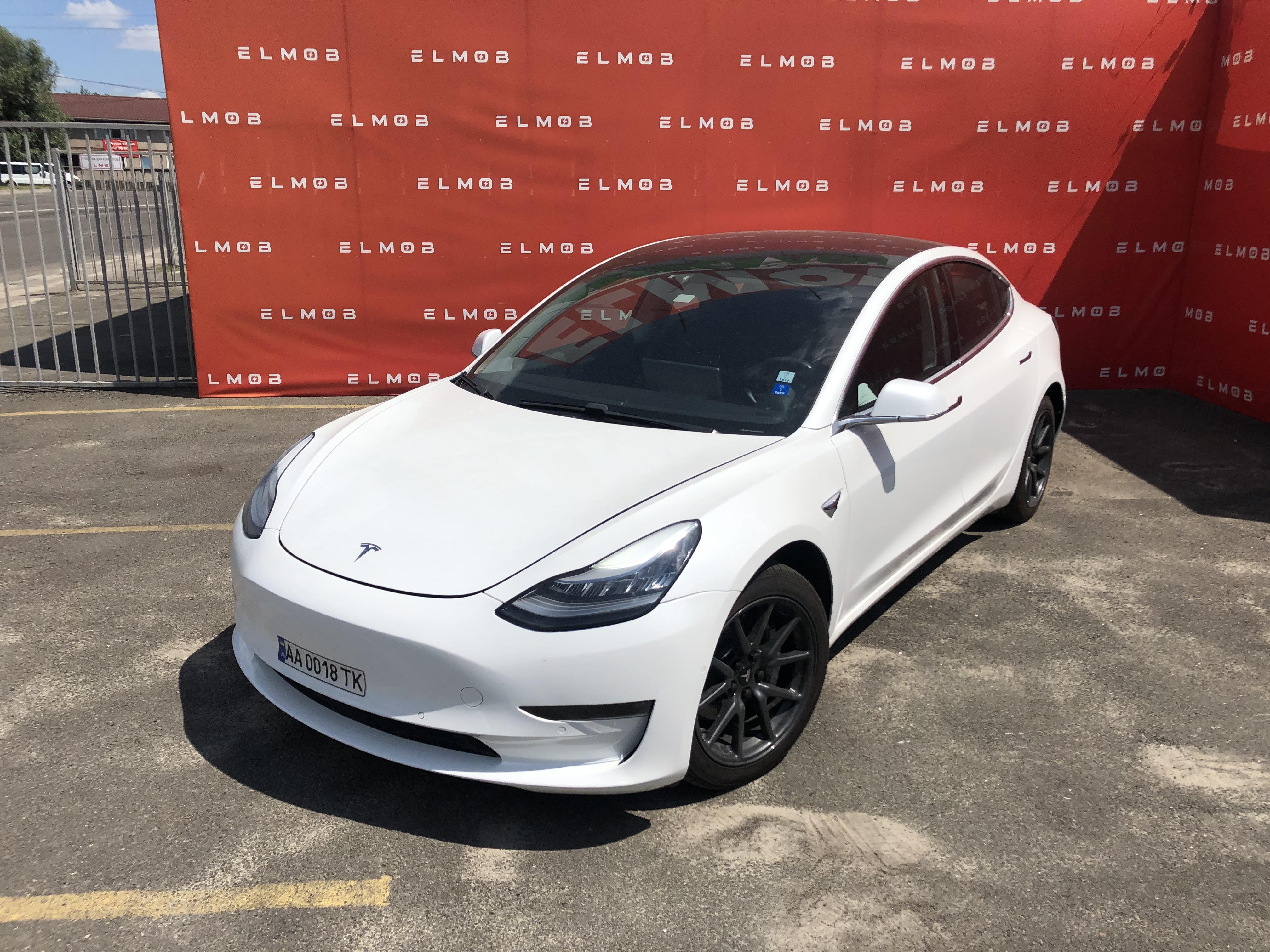 Tesla Model 3 Long Range White
