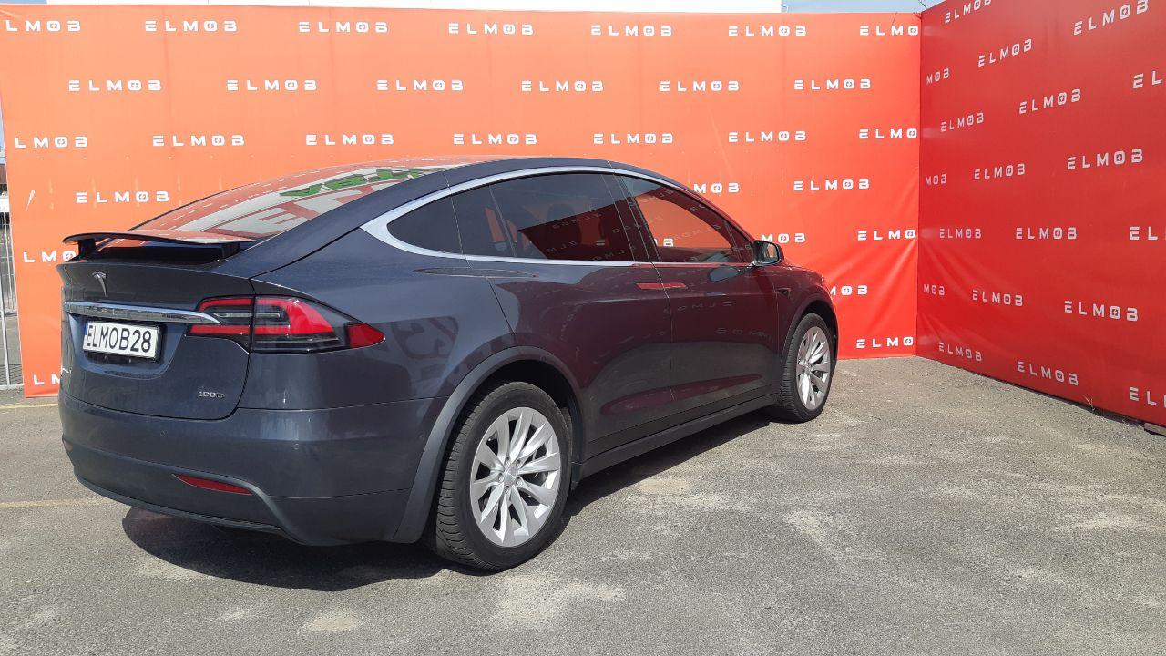 Tesla Model X 75D Grey