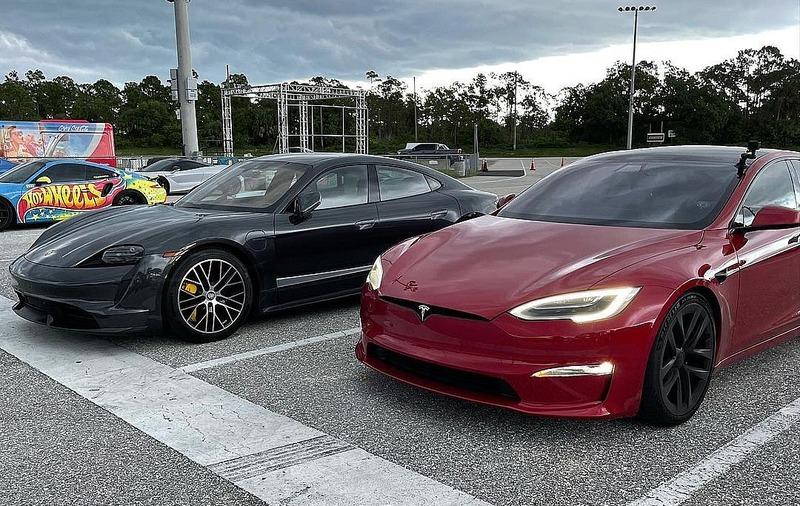 Рекорд Tesla Model S Plaid