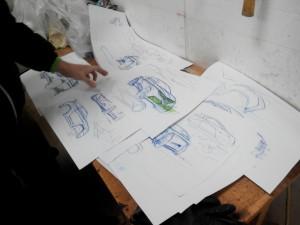 концепт электромобиля concept electric car elmob