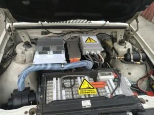 переоборудование в электромобиль volvo elmob