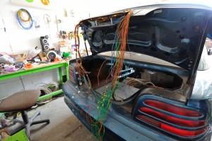 переоборудование в электромобильmustang elmob