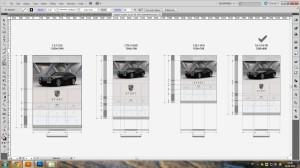 Электромобиль Porsche переобоурдование экран 3