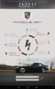 Электромобиль Porsche переобоурдование экран 7