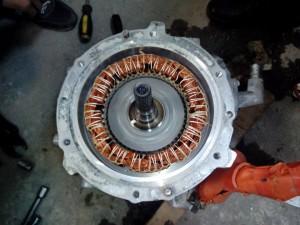 Nissan Leaf motor мотор Нисан лиф