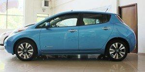 Nissan leaf sl